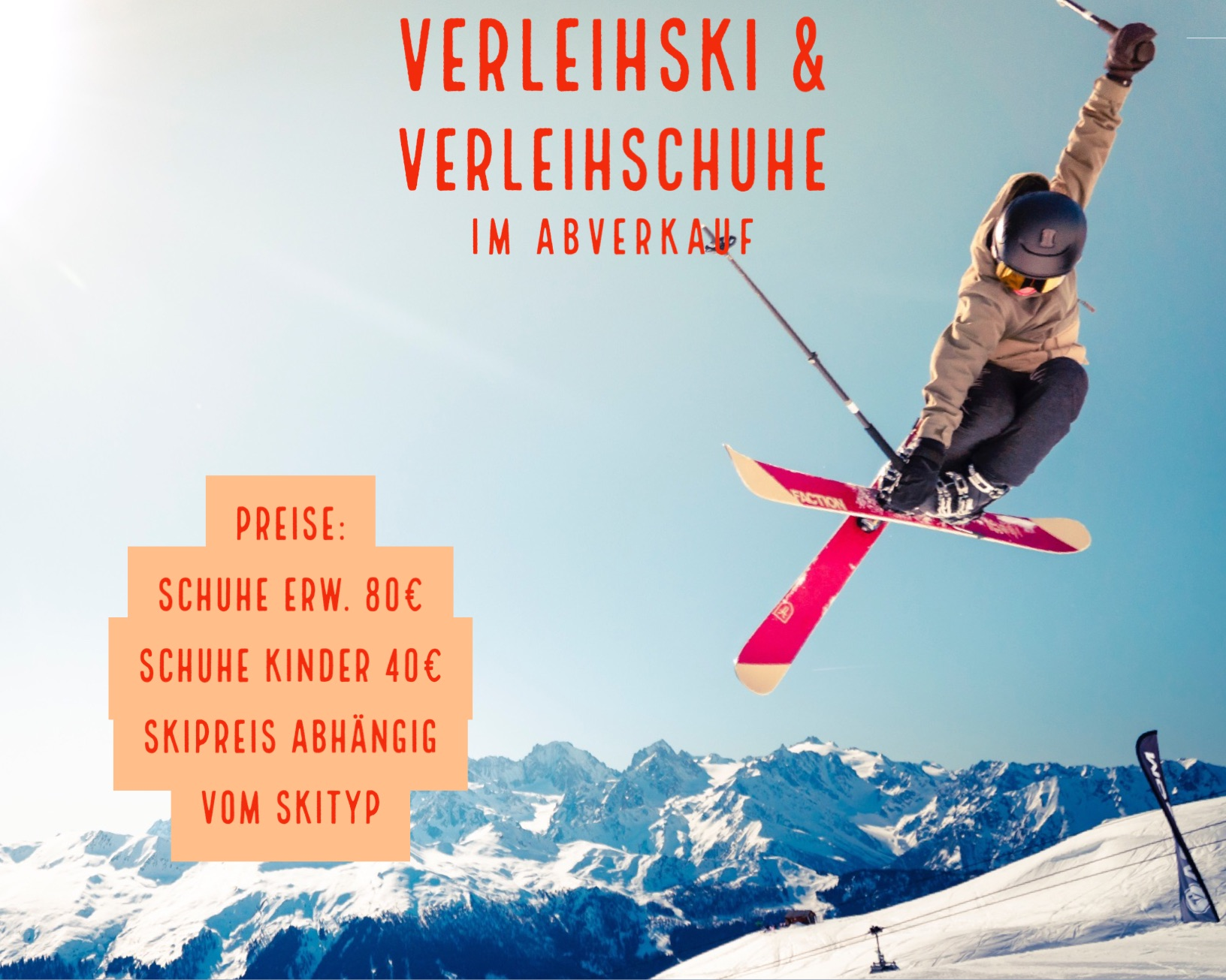 Abverkauf Ski