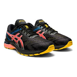 Asics GT-2000 8 Trail men Farbe: Black Sunrise Red