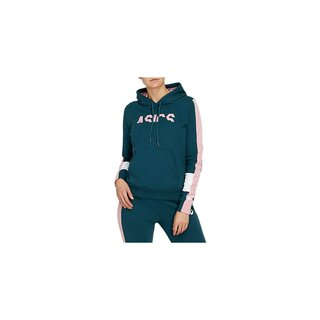 Asics COLORBLOCK OTH HOODY  Women Farbe: MAGNETIC BLUE/GINGER PEACH
