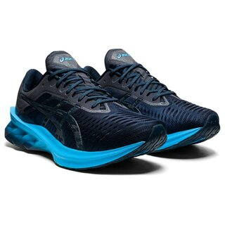Asics NOVABLAST men Farbe: FRENCH BLUE/DIGITAL AQUA