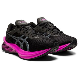 Asics Novablast Women Farbe: BLACK/DIGITAL GRAPE