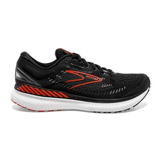 Brooks Glycerin GTS 19 men Farbe: Black/Grey/Red Clay