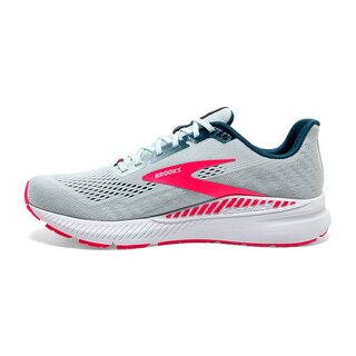 Brooks Launch 8 GTS women Farbe: Ice Flow/Navy/Pink