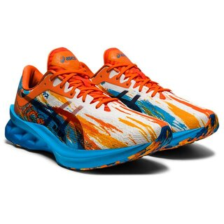 Asics NOVABLAST men Farbe: DIGITAL AQUA/MARIGOLD ORANGE