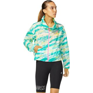 Asics COLOR INJECTION JACKET Women Farbe:  BALTIC JEWEL